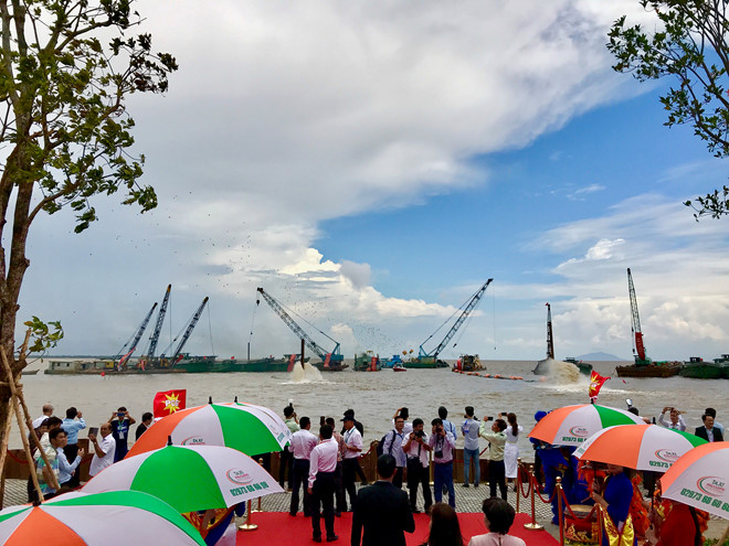 Dự án khu đô thị lấn biển