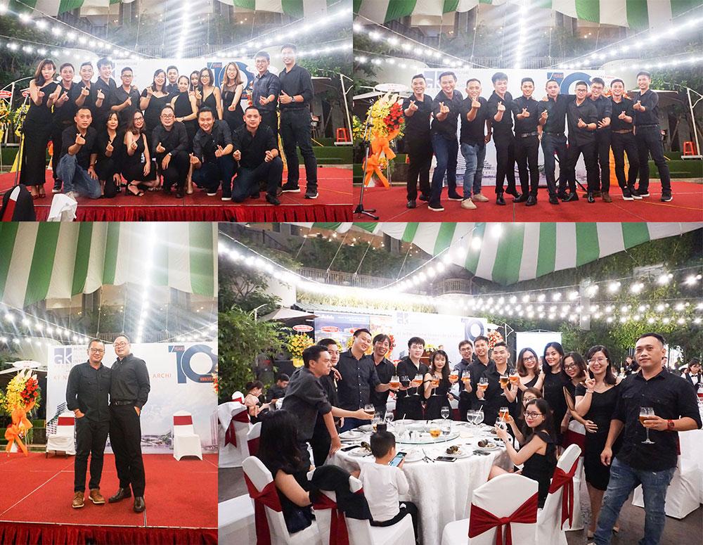 Lễ kỷ niệm 10 năm thành lập Công ty TNHH GK Archi 1